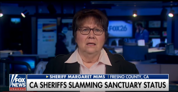 Sheriff Tells Trump: California Sanctuary City Laws Are a 'Disgrace'