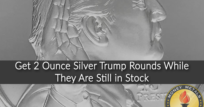 2 Ounce Trump Coins from Money Metals Exchange