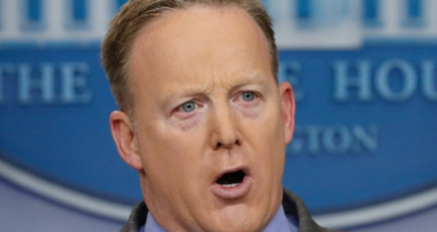 Spicer's Epic Defense of Wire Tapping Evidence to White House Press Corp