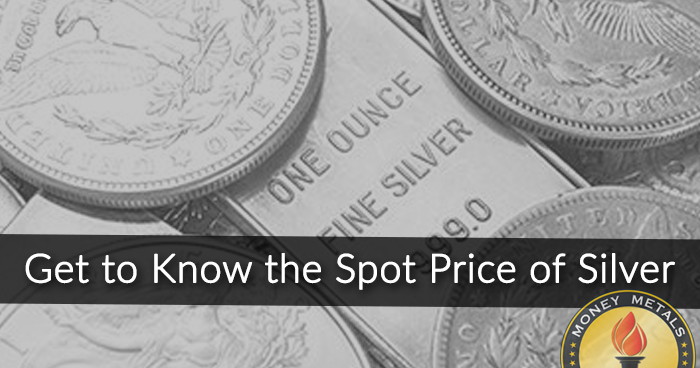 Silver Spot Price Charts from Money Metals Exchange