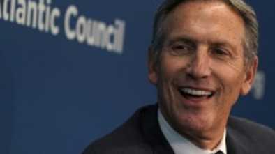 Starbucks CEO Schultz