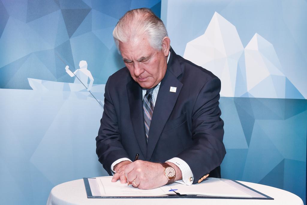 Secretary of State Rex Tillerson photo