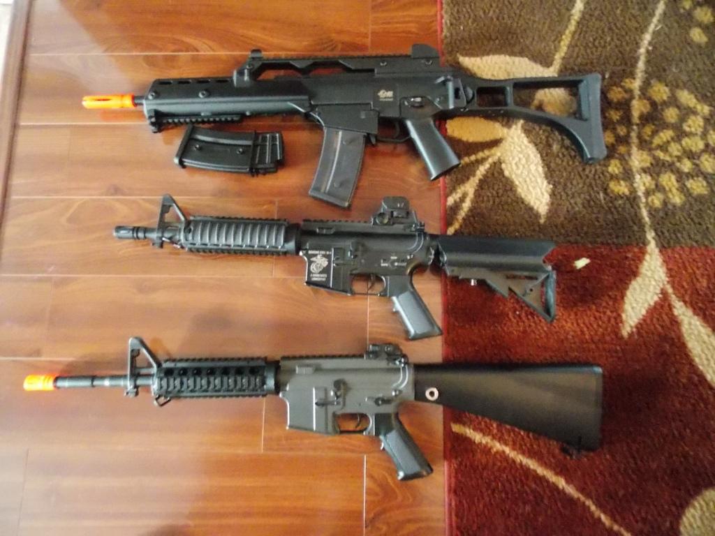 Airsoft gun photo