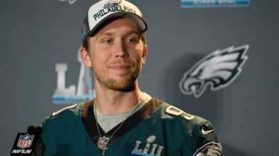 Super Bowl MVP Nick Foles Openly Shares His Christian Faith