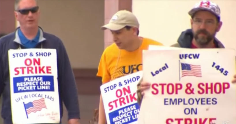 Supermarket Employee Files Complaint after Union Harassed and Threatend Him