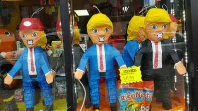 Teacher Accused of Letting Students Smash Pinata with Trump's Face