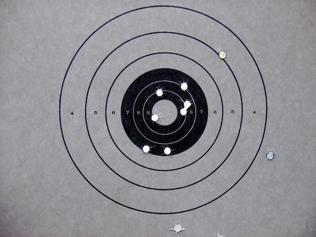 bullseye target photo