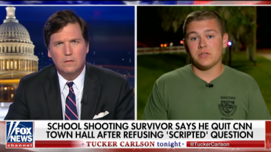 Teen at FL School Shooting: 'Absolutely' CNN Wrote the Question for Me