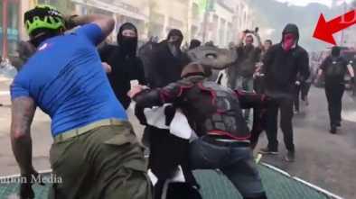 TERRORISTS OR STREET GANG? Radicals, Unions Egg on Antifa Thugs