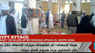 Terrorists Slaughter 235 in Egypt at Mosque