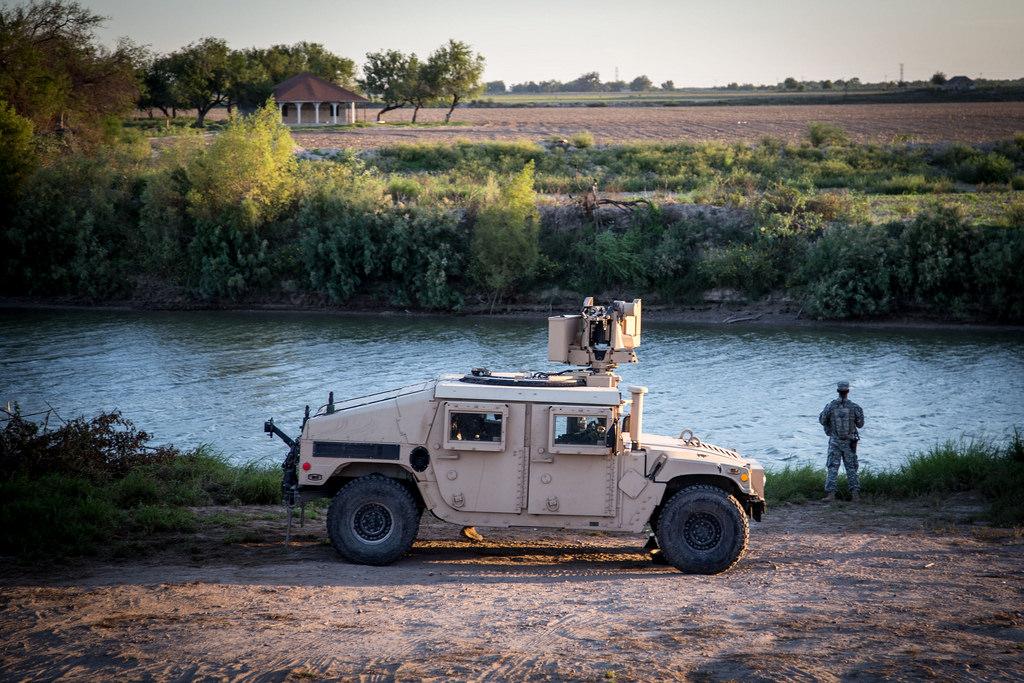 Texas National Guard border photo