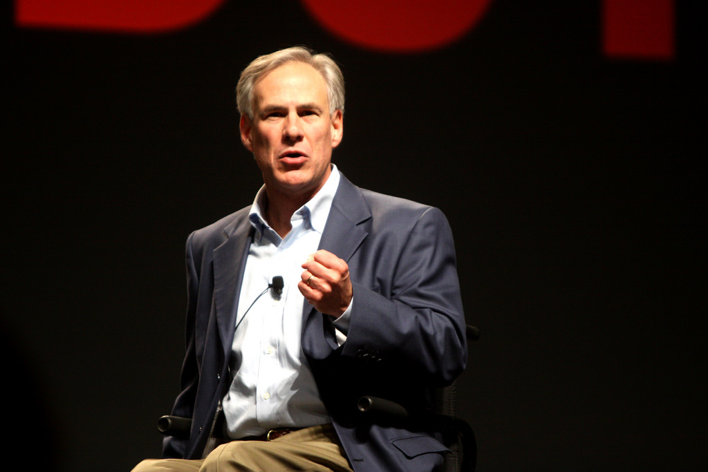 Greg Abbott photo