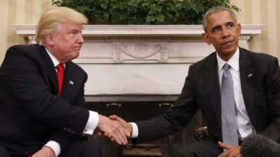 The Most Unprecedented Thing About Trump's Presidency Is Obama and Hillary's Behavior