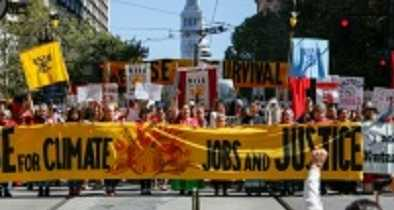 Thousands March Against Fossil Fuels in San Francisco