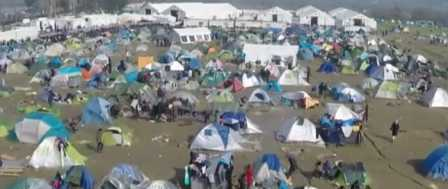 Thousands of Sick Migrants Continue to Flood Across the Border 3
