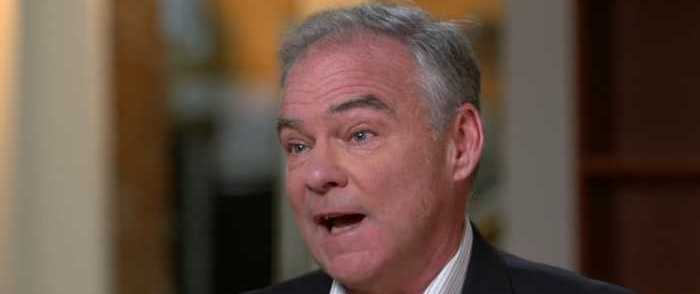 Tim Kaine Compares Gov't Shutdown to Great Depression