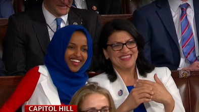 Tlaib and Omar Sign a Pledge to Impeach Trump