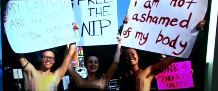 Topless NH Women Want SCOTUS to Examine 'Free the Nipple' Case