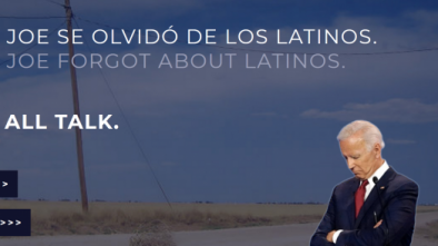 Trump 2020 Campaign Trolls Biden's New Latino Voter Outreach Program