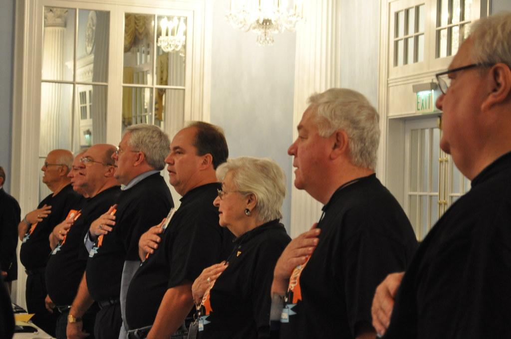 pledge allegiance council photo