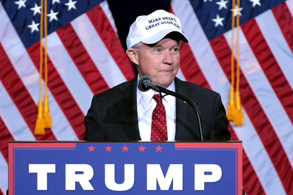 Sessions Trump photo