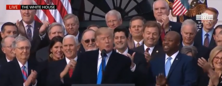 Trump, Congressional Republicans Celebrate Tax Victory 1