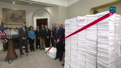 Trump Cuts 22 Regulations for Every New One