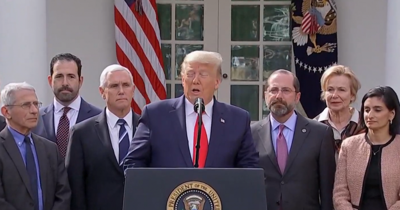Trump Declares Nat'l Emergency to Combat Coronavirus