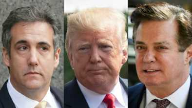 Trump Denies Wrongdoing, Slams Cohen 'Stories' on Hush Payments
