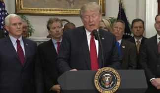 Trump Executive Order Begins Dismantling Obamacare