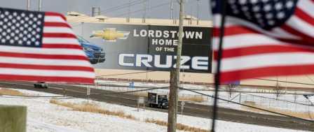 Trump Fires at GM Again Ahead of Ohio Visit