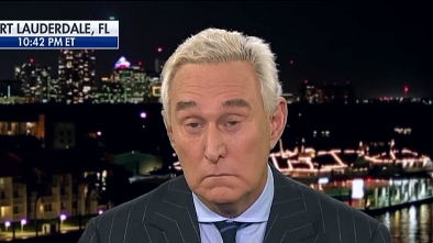 Trump Hints At Pardon For Roger Stone