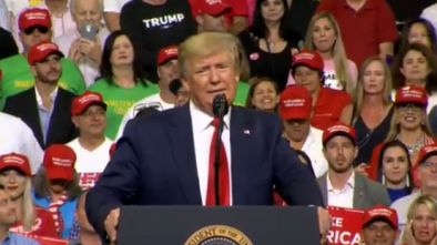 Trump Kicks Off 2020 Campaign with Rousing Rally in Fla.