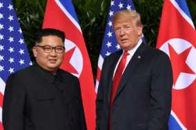 Trump, Kim Hail Historic Summit; Not Many Details