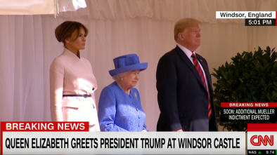 Trump Meeting the Queen Is Opposed by  Many in Great Britain