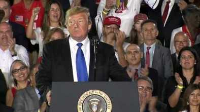 Trump Proclaims End of Socialism During Speech on Venezuela