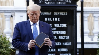 Trump Projects Authority as Left Loses Minds over Church Photo-Op