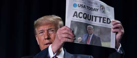 Trump Rebukes 'Love Your Enemies' Plea at Prayer Breakfast