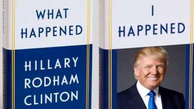 Trump Retweets Image Mocking Clinton's Memoir, 'What Happened'