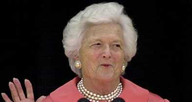 Trump Says Barbara Bush's Criticism Wasn't Surprising: 'Look What I Did to Her Sons'