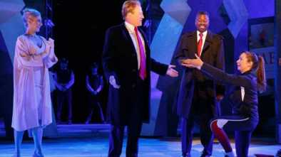 'Trump' Stabbed to Death in Performance of 'Julius Caesar'
