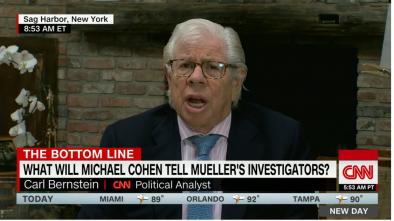 Trump Targets Watergate Reporter Carl Bernstein