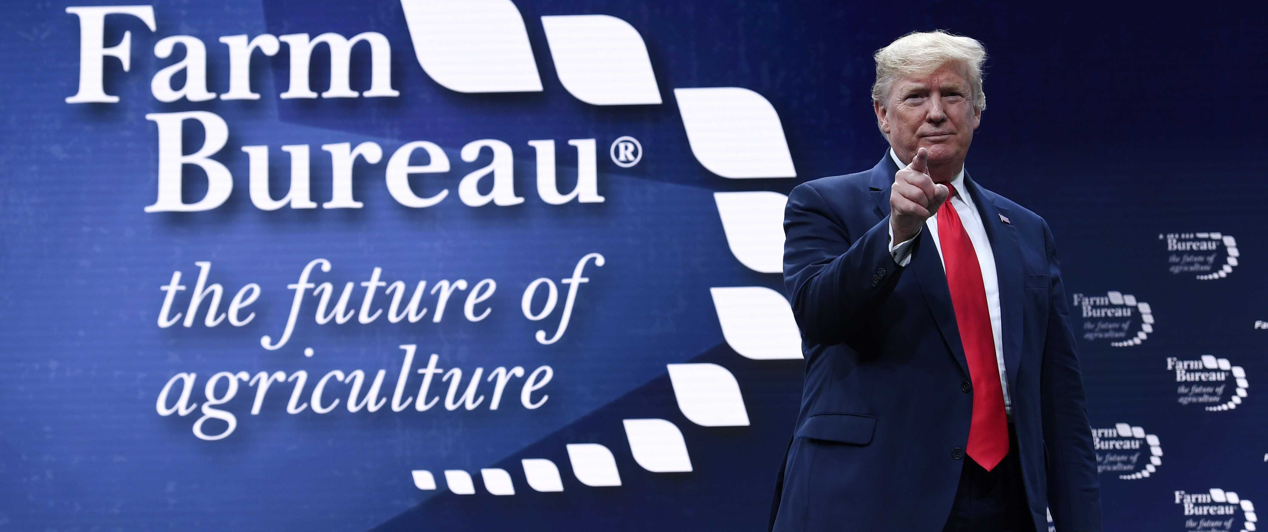 Trump Thanks Farmers for Backing Him Through China Trade War