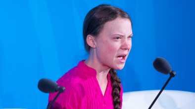 Trump Trolls Greta Thunberg Climate Speech