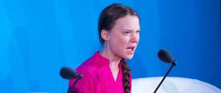 Trump Trolls Greta Thunberg Climate Speech