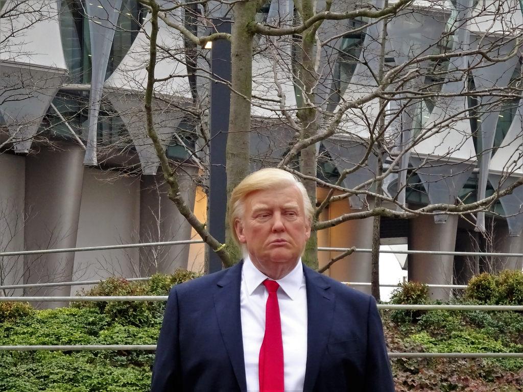 President Donald Trump 2018 photo