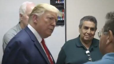 Trump Visits El Paso After Massacre, Gets Both Hostility & Welcome