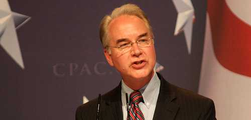 Trump's HHS Sec Tom Price Pledges to Uphold Obamacare 1