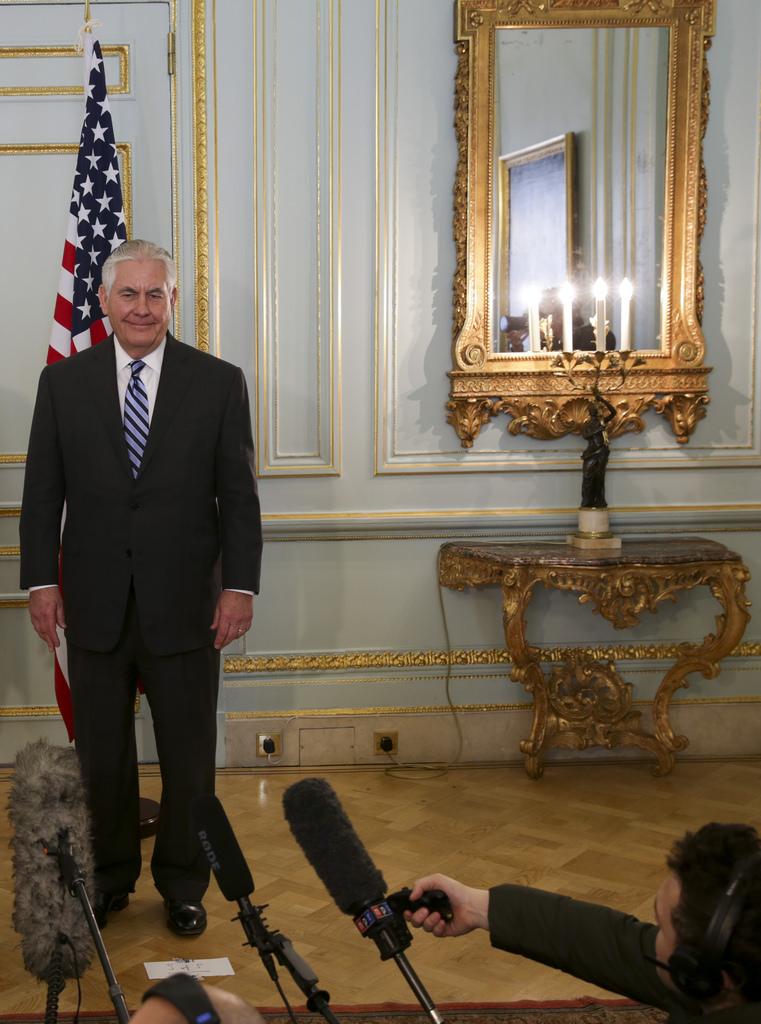 Rex Tillerson 2018 photo