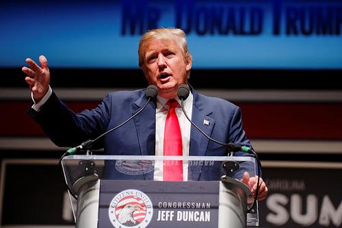 Trump grassroots photo